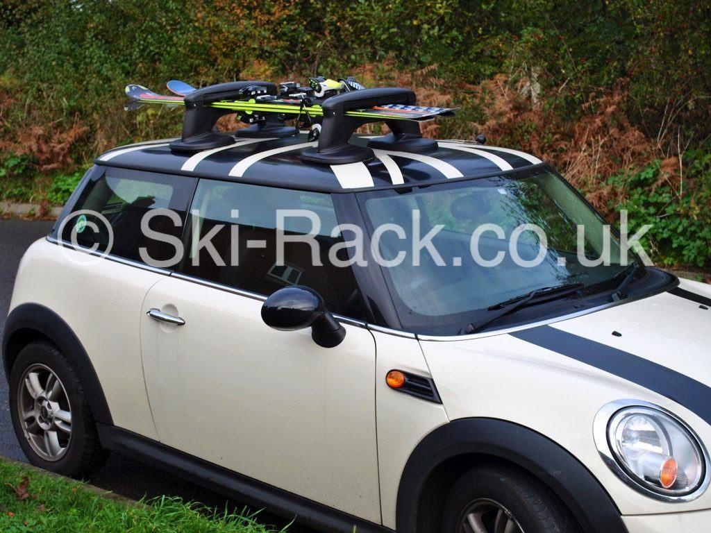 Mini Ski Rack U2013 No Roof Bars £134.95