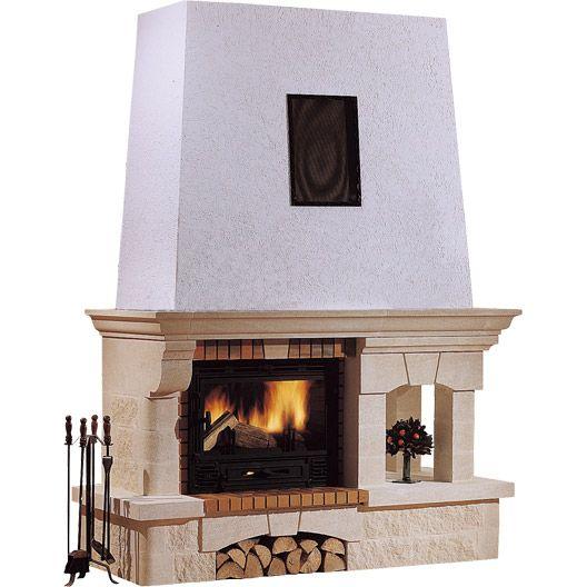habillage de chemin e en pierre avignon linteau pierre d coration pinterest habillage de. Black Bedroom Furniture Sets. Home Design Ideas