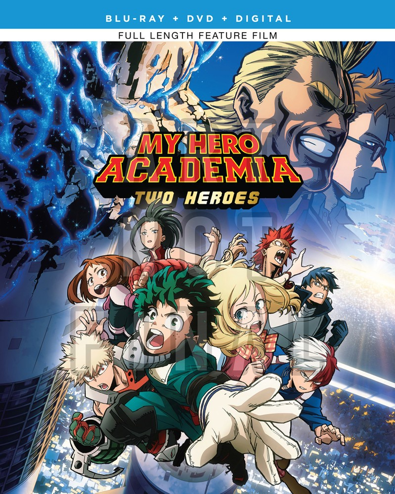 My Hero Academia Two Heroes Bluray/DVD + GWP My hero