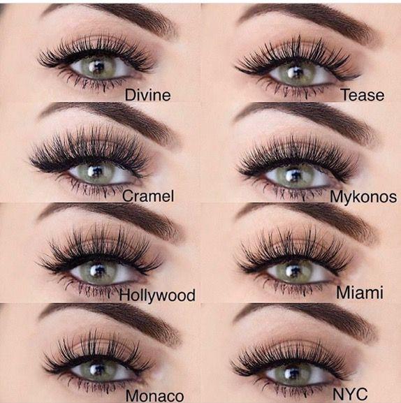 Different types of LillyLashes!!!! | Lily lashes, Eyelash ...
