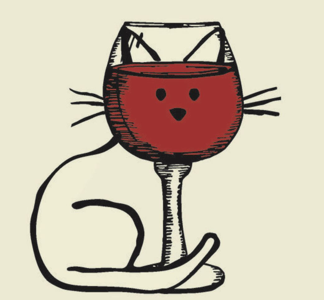 Cats And Wine Make Everything Fine Cat Drinking Cat Tattoo Wine Tattoo