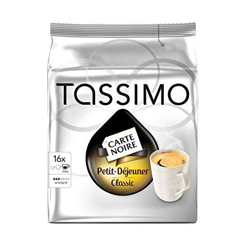 Tassimo Petit Dej 16 Pods Single Serve Capsules Pods