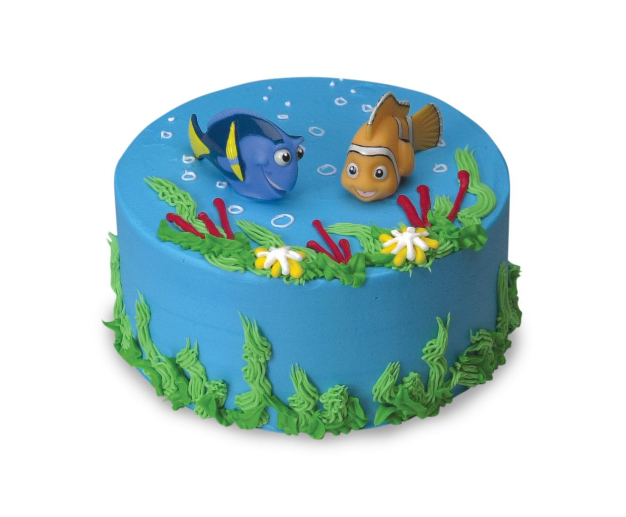 Finding Nemo Ice Cream Cake At Cold Stone Creamery Replace Fish - Nemo fish birthday cake