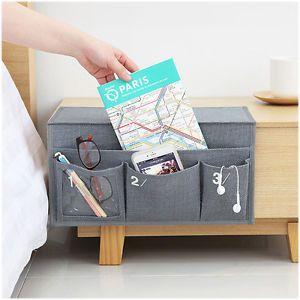 how to make a bedside pocket caddy