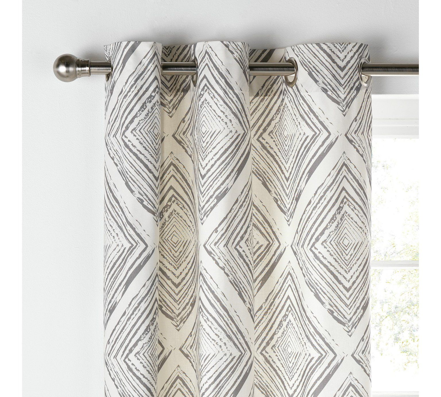 Buy Collection Diamond Distressed Lined Curtains 117x137 Grey At Argos Co Uk Visit Argos Co Uk To Shop Online For Curt Lined Curtains Curtains Grey Curtains