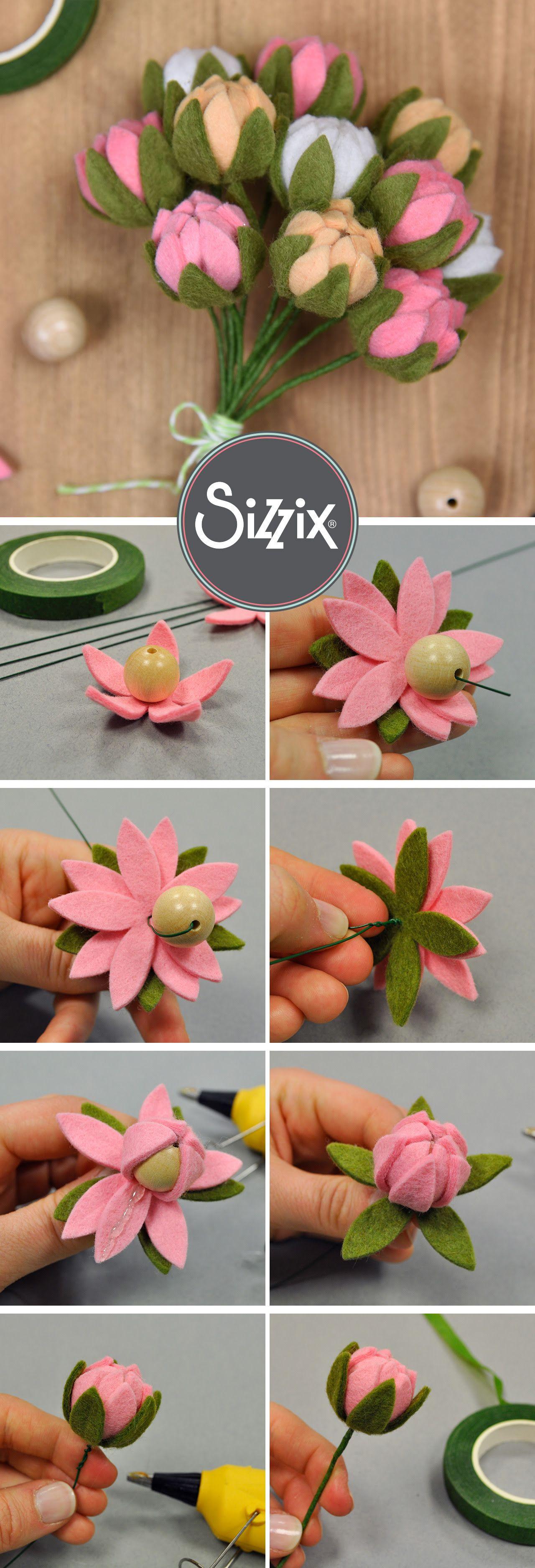 Follow Us On Pinterest Pola Bunga Bunga Kain Kreatif