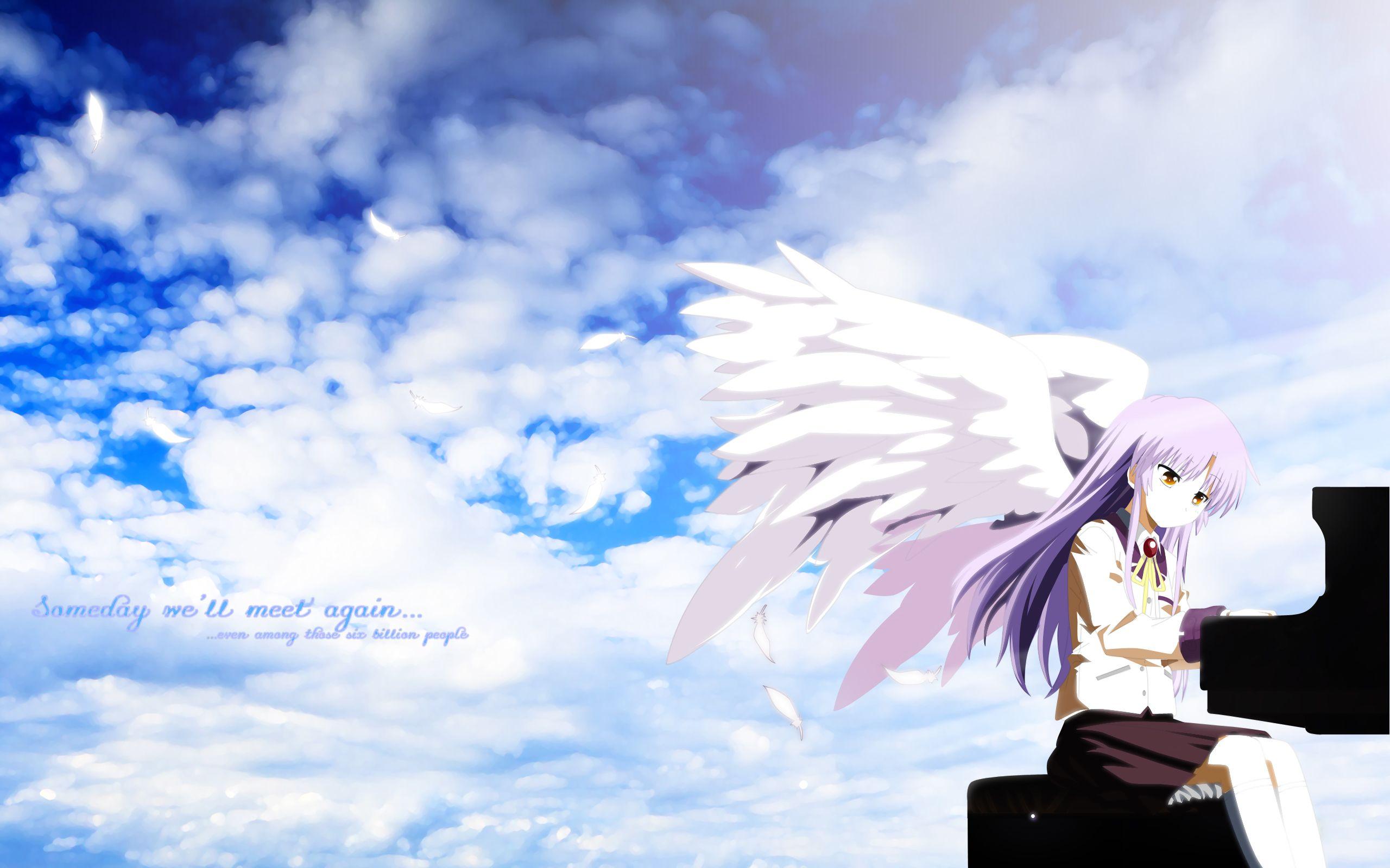 Angel Angelbeats Angel Beats Angel Beats Anime Beats Wallpaper Angel beats anime wallpaper