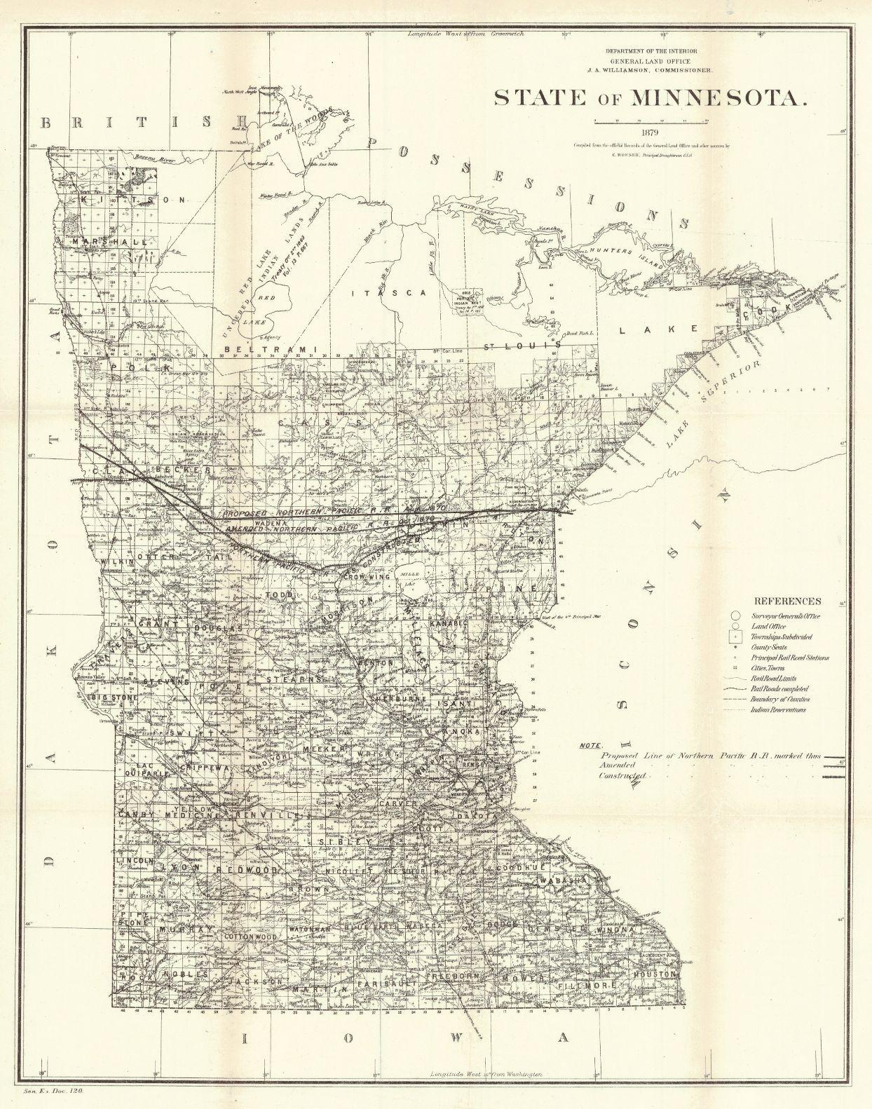 Map Antique. State of Minnesota. Julius Bien/G.L.O. 1879. New York on indian travel map, indian military map, cartoon city town map, indian alaska map, indian history map, indian reservation map new jersey, indian usa map, indian asia map, indian china map, mohawk indian territory oklahoma map, indian united states map, indian ohio map, indian texas map, indian florida map,