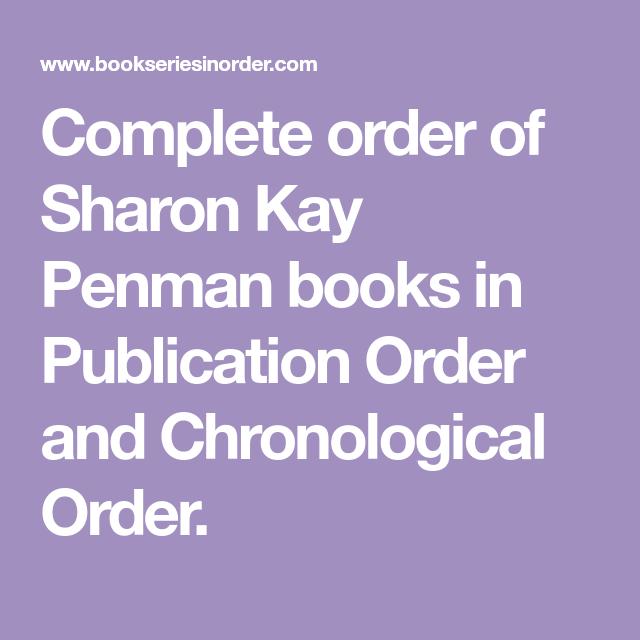 Complete Order Of Sharon Kay Penman Books In Publication Order And Chronological Order Diane Mott Davidson Books Mystery Book Susan Elizabeth Phillips Books