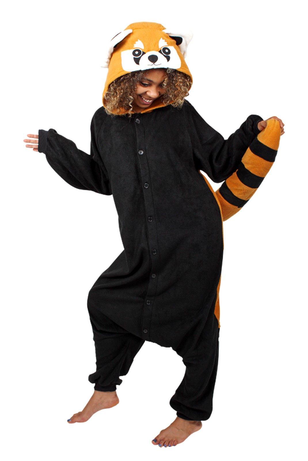 Red Panda Onesie A Must Get Pandas Red Panda Panda Onesies