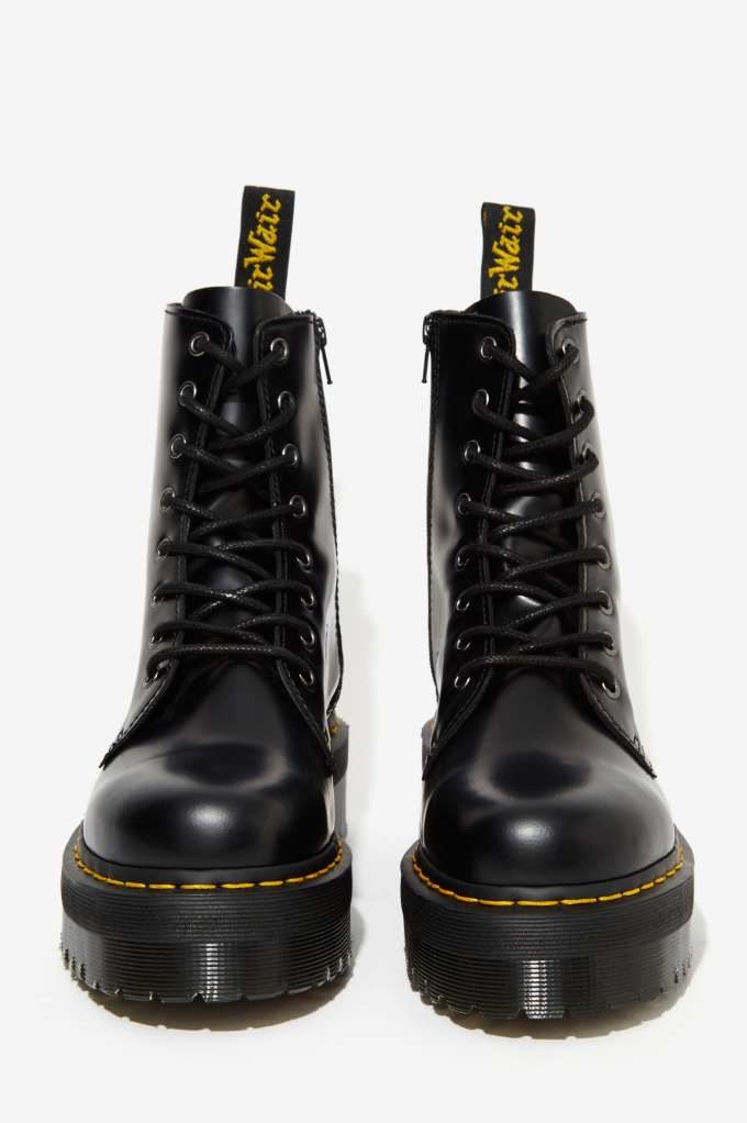 b21343f6c5b Finally got my black dr martens jadon boots! My collection is complete!