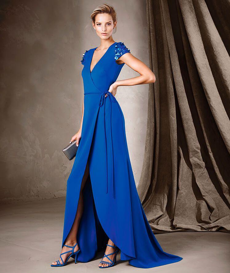 COINTA - Vestido de festa comprido Pronovias roupas Pinterest