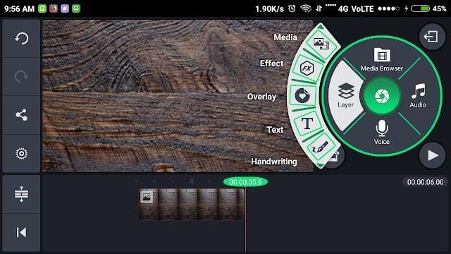 Green Kinemaster Pro Update Version v5.01.8.95 Free