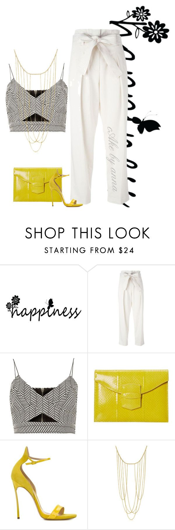 """""""cake by anna"""" by mzchunkylover310 ❤ liked on Polyvore featuring 3.1 Phillip Lim, River Island, Oscar de la Renta and Casadei"""