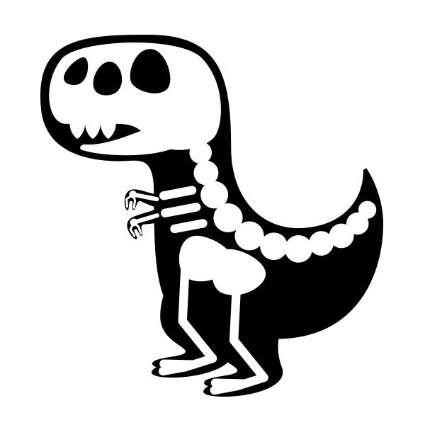 Resultado de imagen para fosil de dinosaurio dibujo   ilustracion en ...