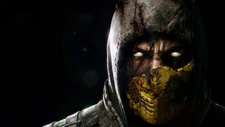 Scorpion Close Up Mortal Kombat X Mask 1080p Scorpion Mortal
