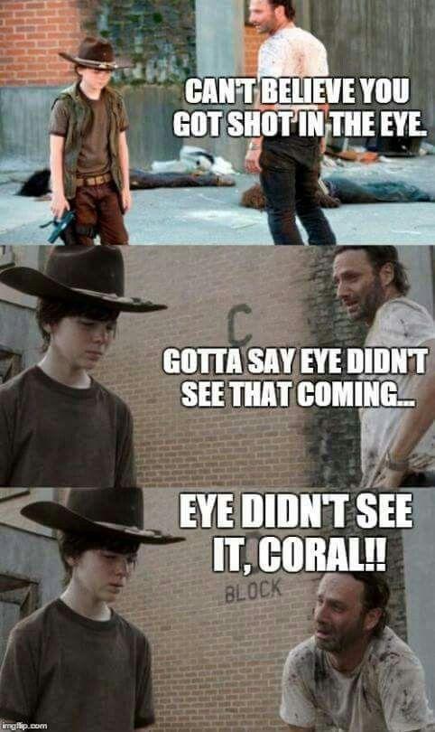 The Walking Dead With Images Walking Dad Jokes Walking Dead