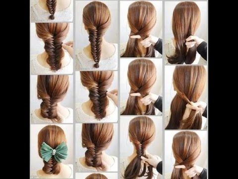 Pin By Mossleh Alshehrey On School Easy Hairstyles Stylish Hair Long Hair Styles