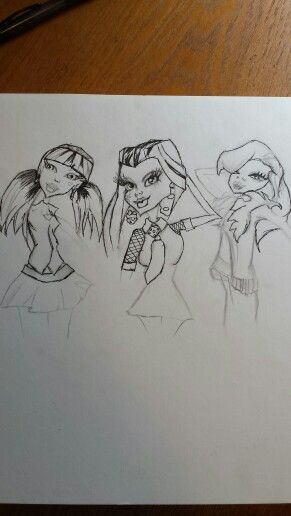 Cartoon .monster high