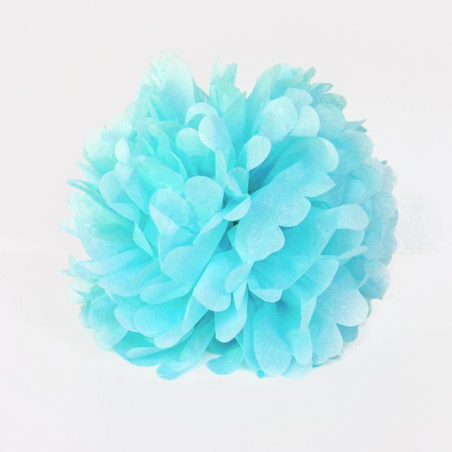 MY LITTLE DAY - Pompon bleu ciel