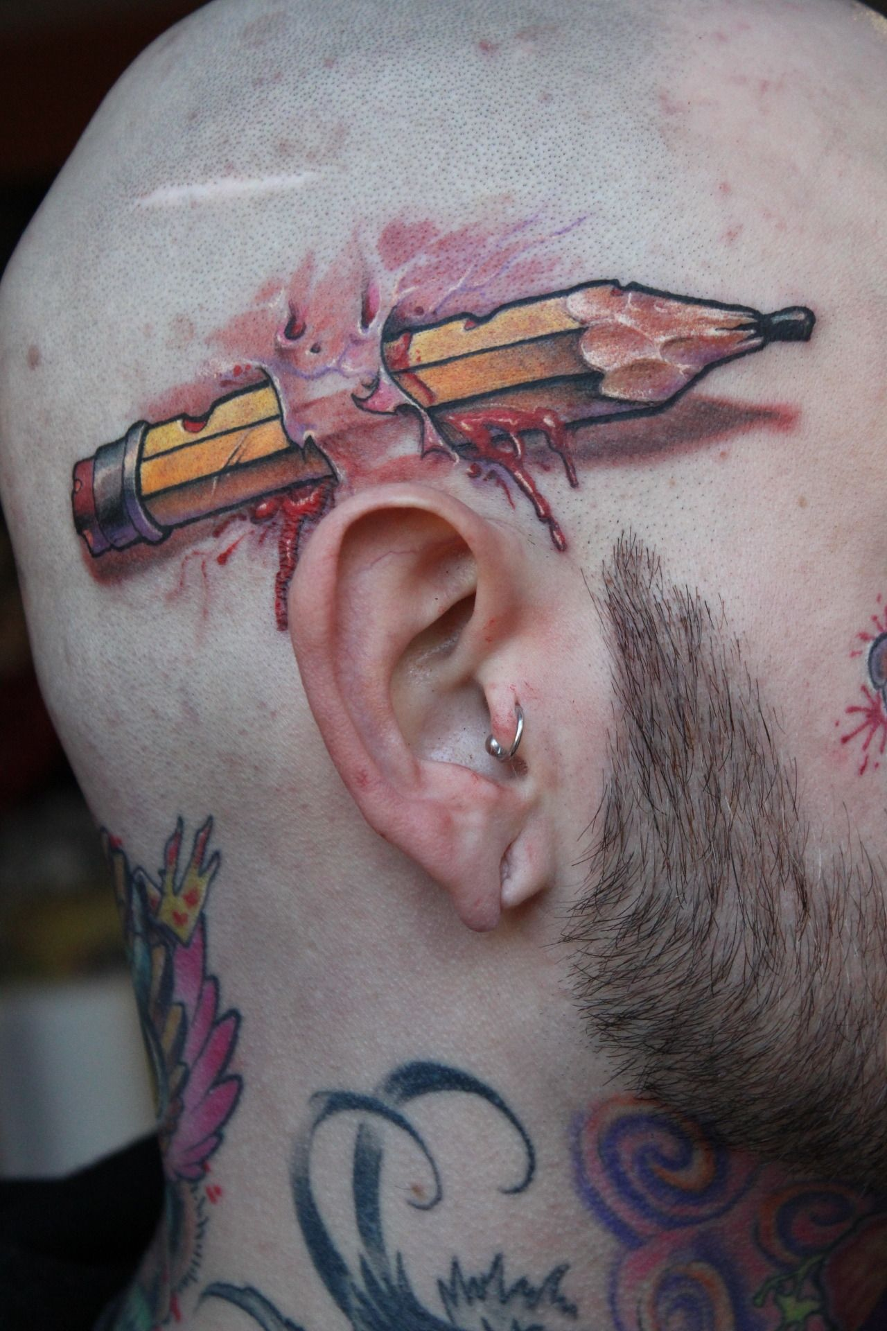 Unusual Tattoos by Renown Spanish Artist Victor Chil