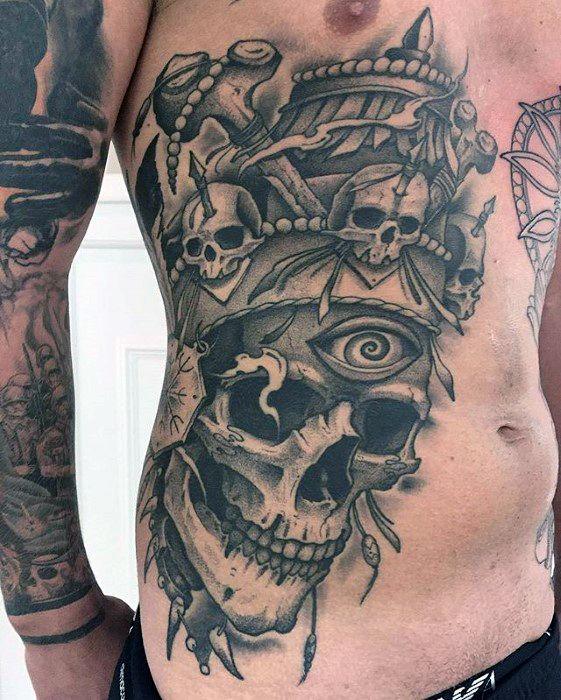 60 Badass Chest Tattoos For Men Manly Ink Design Ideas Tattoos