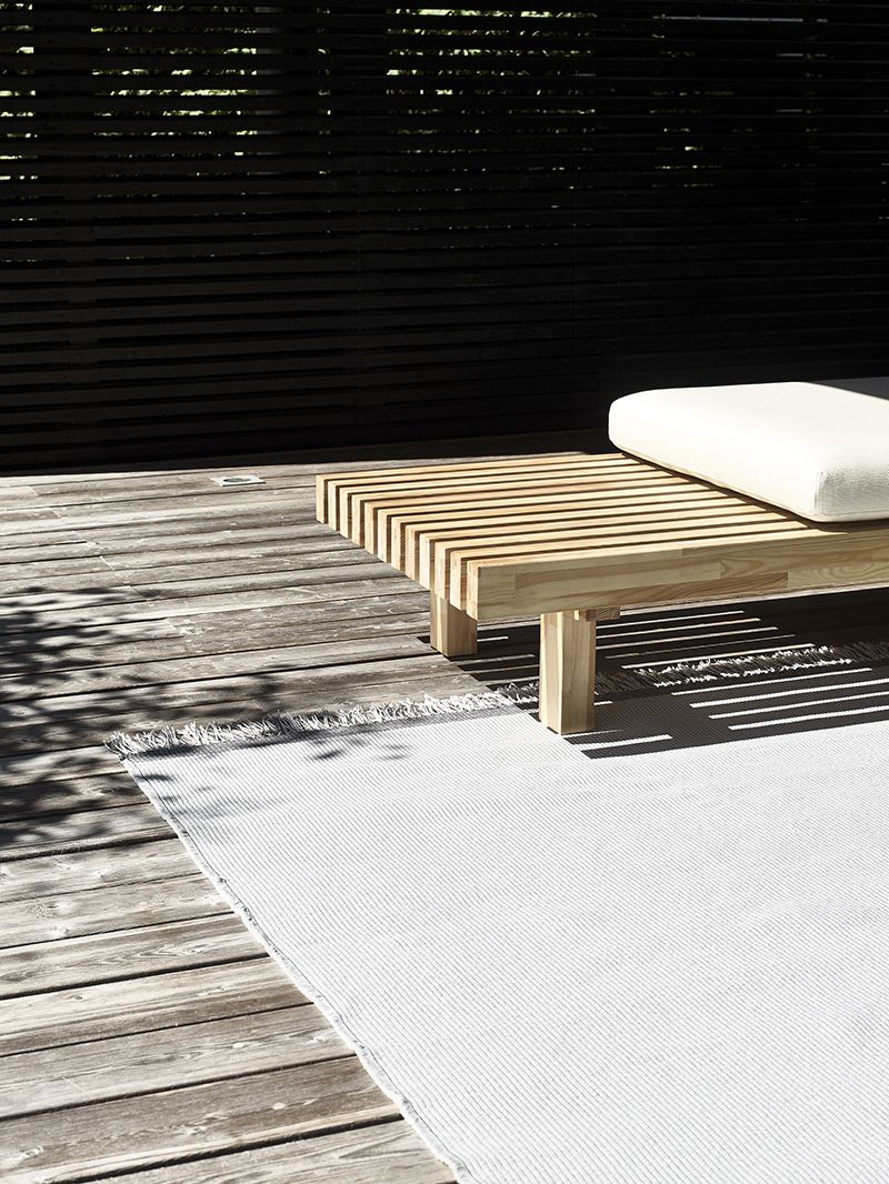 Laveri Bench Is A Versatile Furniture For Indoor And Outdoor Use