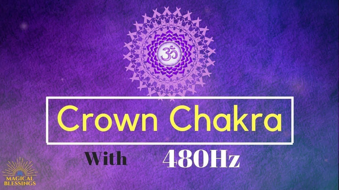 Meditation Music : Active Your Crown Chakra With Peaceful ...