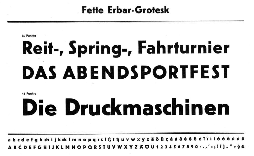 Erbar Typeface  Wikipedia The Free Encyclopedia  Type