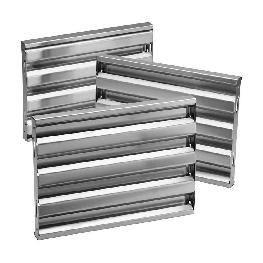 Broan Wall Mounted Range Hood Baffle Filter Stainless Steel Lowes Com In 2020 Range Hood Filters Broan Range Hood