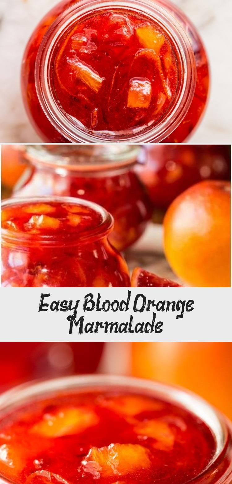 Easy Blood Orange Marmalade #jamrecipesPineapple #Freezerjamrecipes #jamrecipesC…