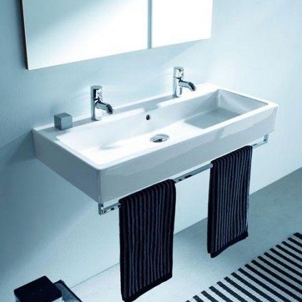 lavabo vero suspendu 1000mm double vasque vasque et suspendu. Black Bedroom Furniture Sets. Home Design Ideas