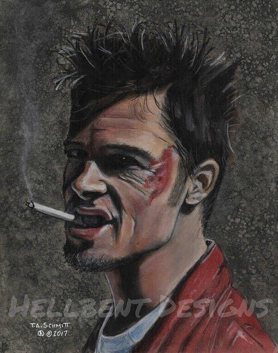 Original Art Print T.A Schmitt Bruce Willis John McClane Painting Die Hard