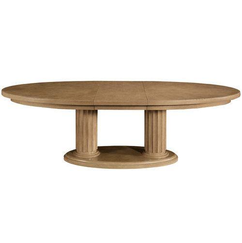 Bn 321 242 244 Bernhardt Monterey Double Pedestal Oval Dining Table Oval Table Dining Dining Table Bernhardt Furniture
