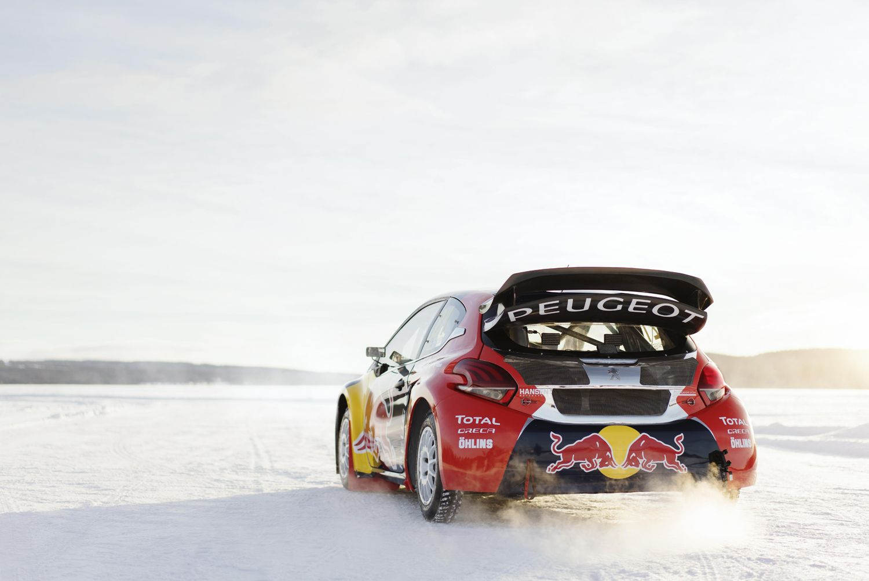 Sebastien Loeb, World Rally Champion, racing