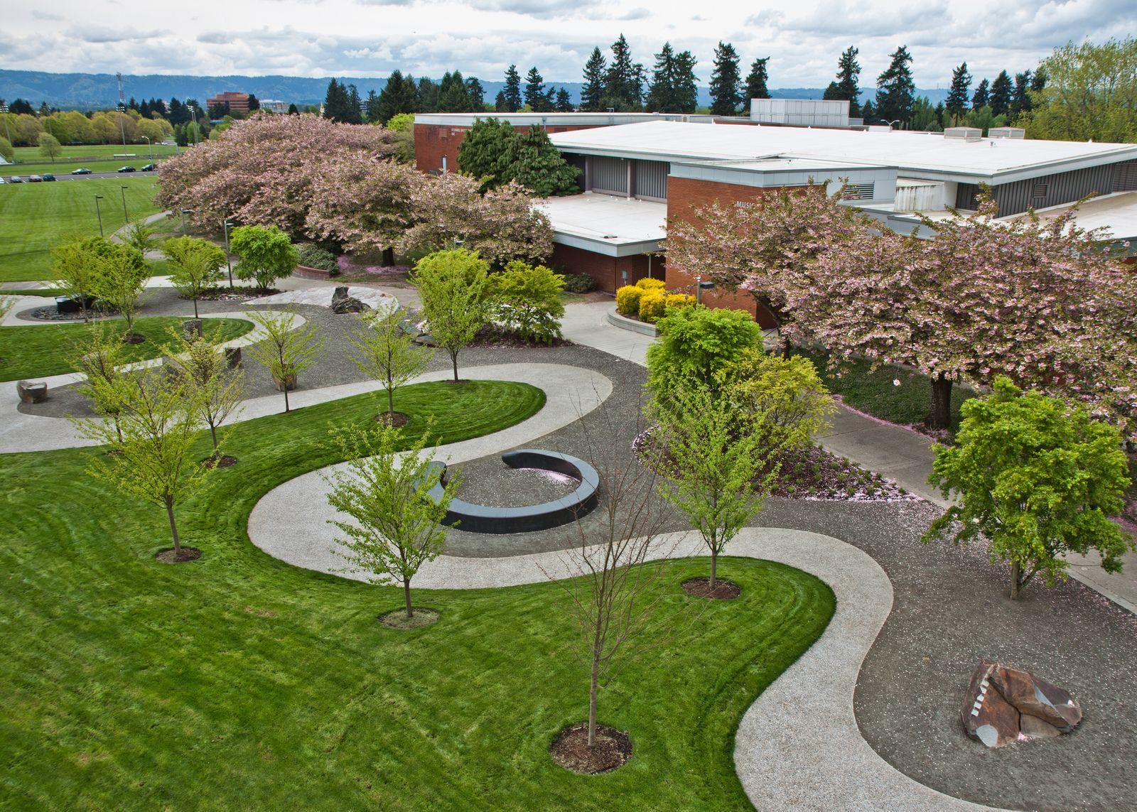 Royce E Pollard Japanese Friendship Garden Landscape 400 x 300