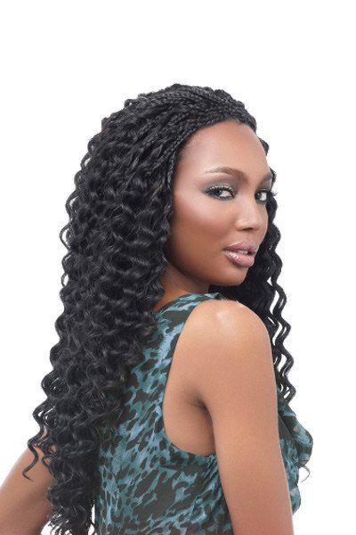 Harlem125 Kima Synthetic Crochet Braiding Hair Ripple Deep ...