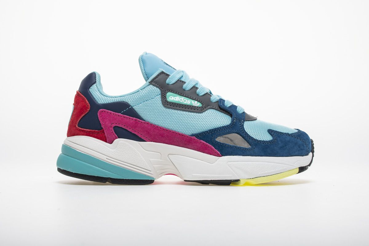 Adidas Falcon W YUNG-2 Red Blue Yellow Sneaker BB9180 3  2983c1057
