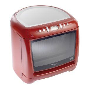Whirlpool Max 25 Red Microwave