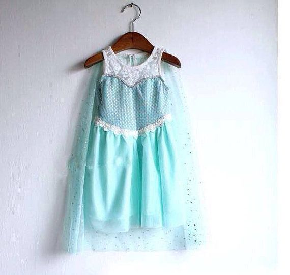 Frozen 'Elsa' Inspired party baby girl dress by itsBellaBootique, £30.00