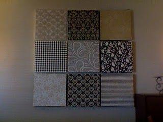 Scrapbook Wall Art