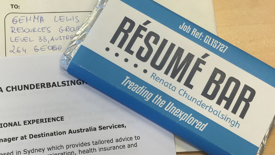 The Chocolate Bar Resume Is Still A Surefire Way Of Getting Noticed In A Job Search Cover Letter For Resume Resume Job Search Tips