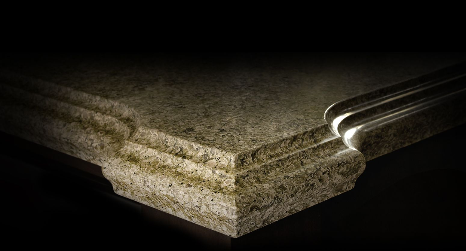cambria #quartz edge profiles _ cornice edge | quartz countertops