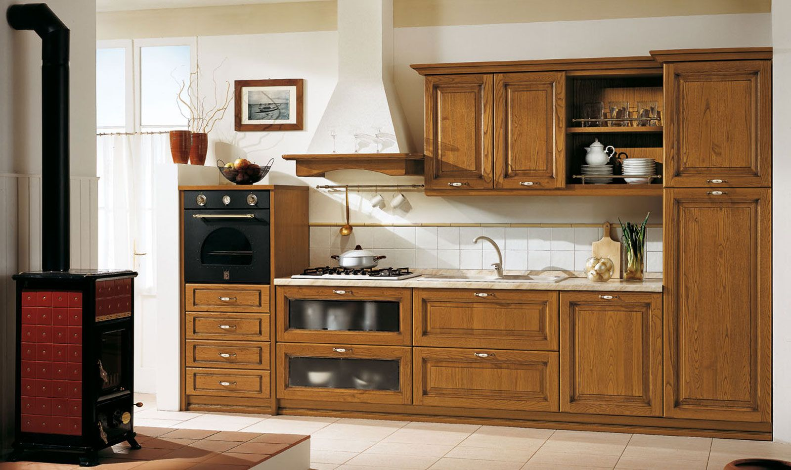 Arredo3 cucine moderne cucine classiche cucina cucine for Produzione cucine