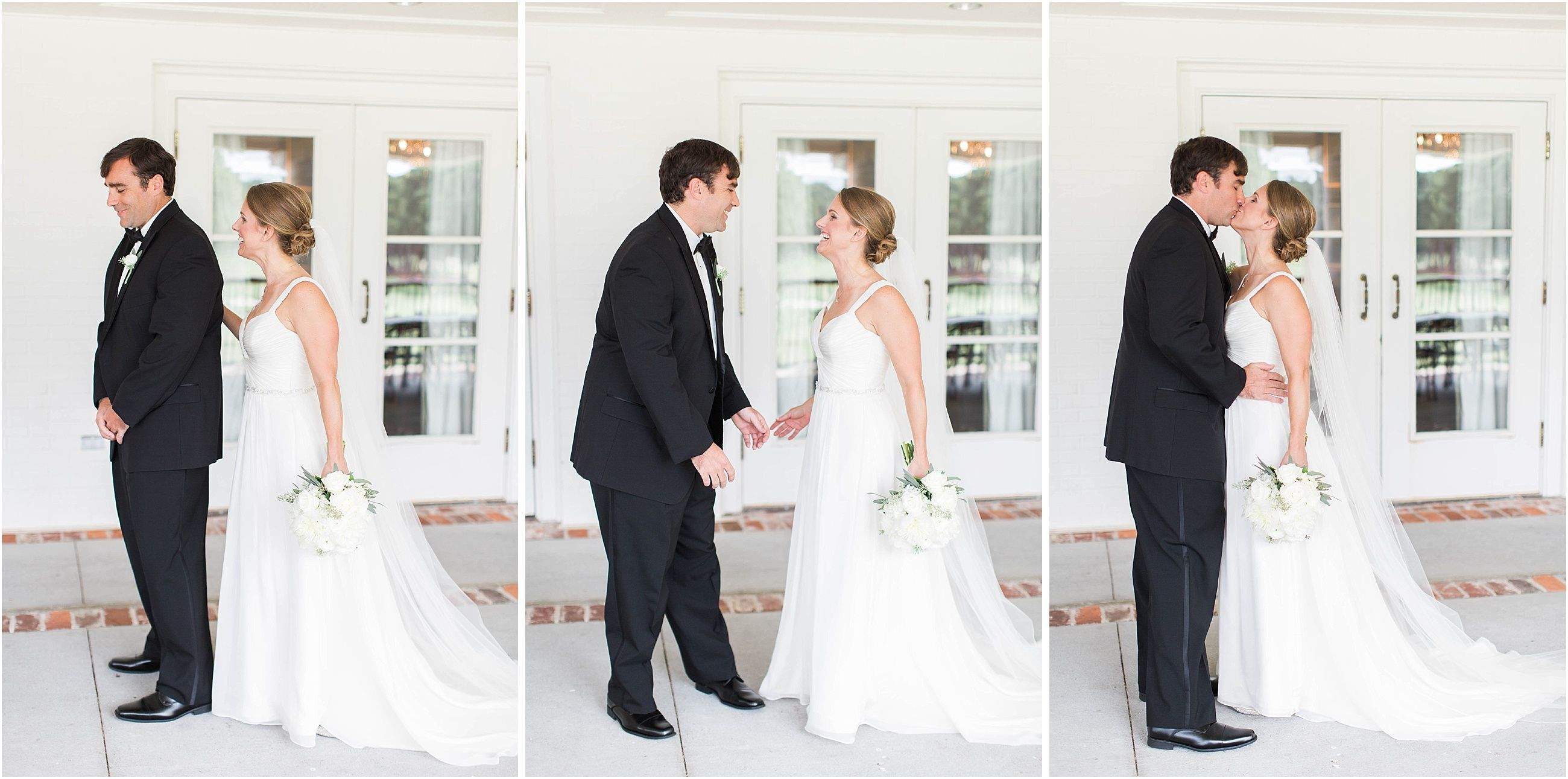 Coosa country club wedding with classic details in rome georgia