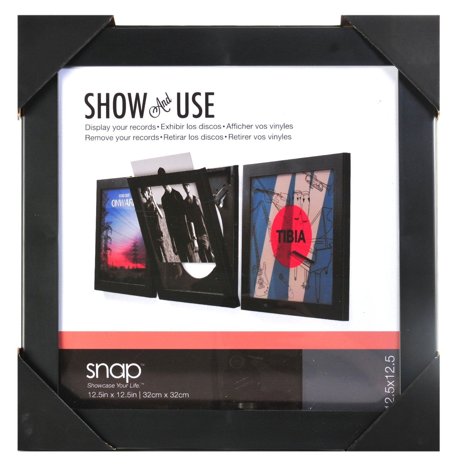 Amazon Com Snap Show And Use Vinyl Record Frame Framed Records Vinyl Record Frame Used Vinyl Records