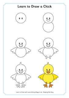 Different Learning To Draw Printables These Would Be Cute In A