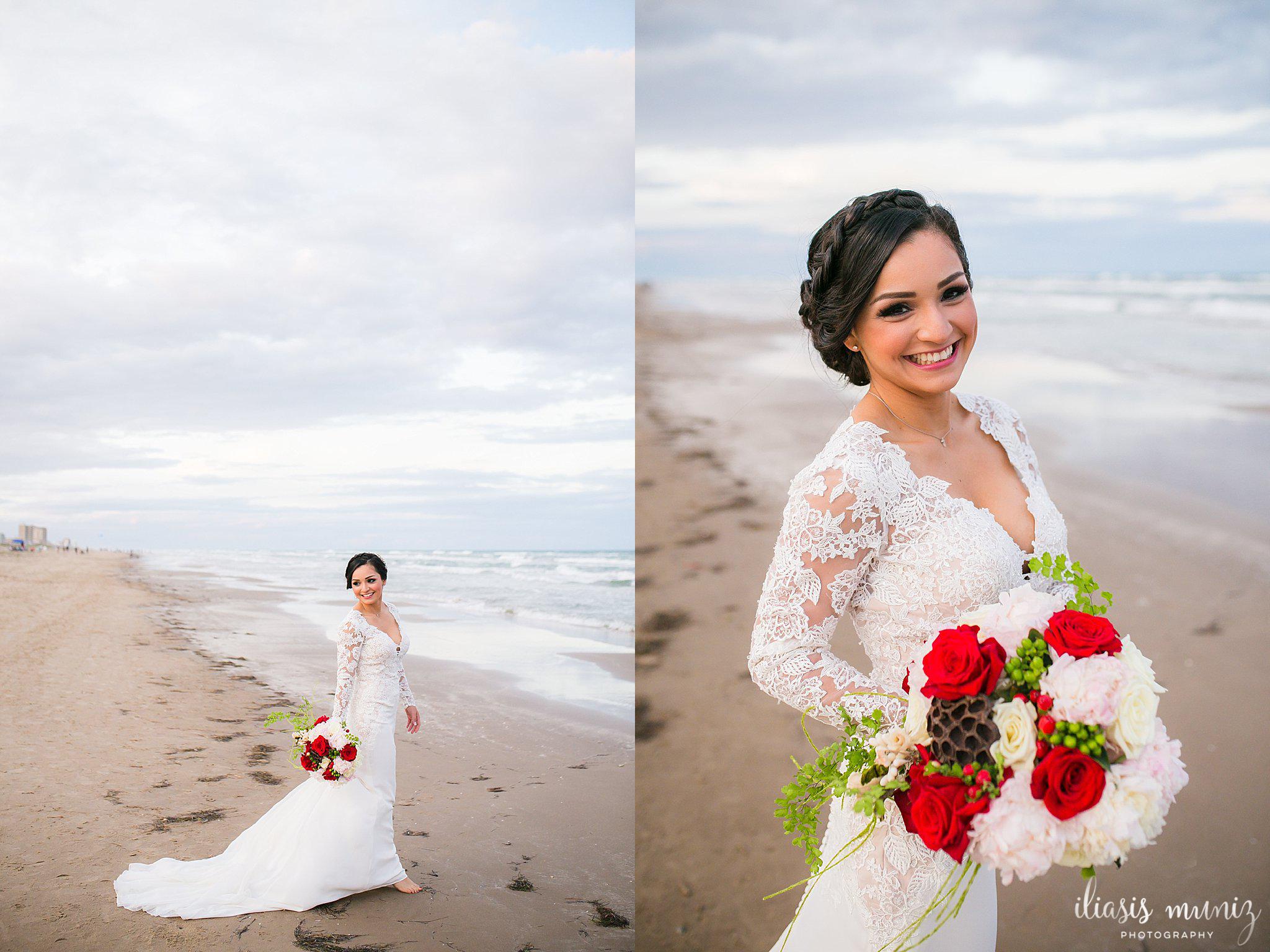 Fairytale Wedding at Casa Mariposa on South Padre Island, Tx | South ...