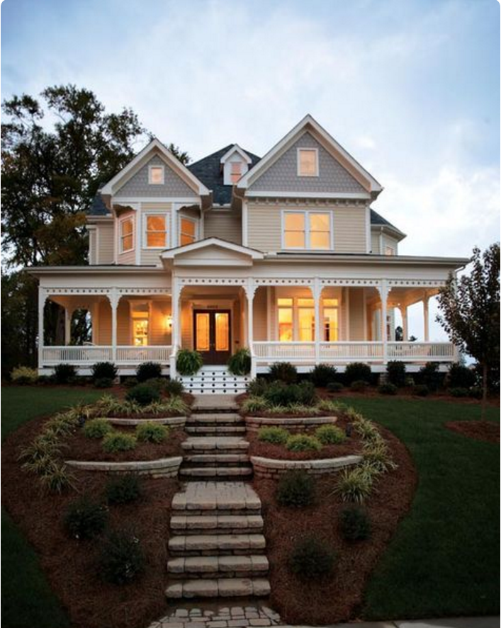 Wrap Around Porch Victorian House Plans Country House Plan House Plans