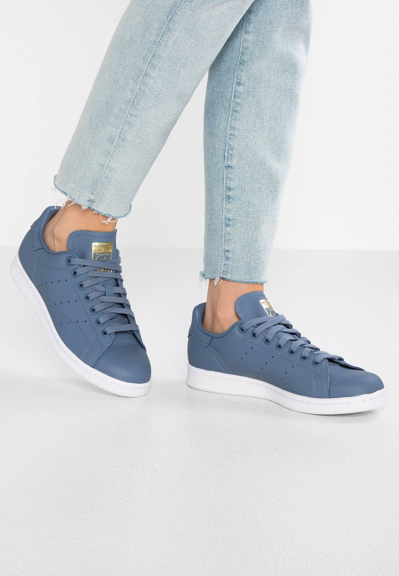 new styles e307a 72a25 adidas Originals STAN SMITH - Sneakers - raw steelreal lilacraw gold -